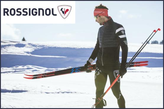 Rossignol: attrezzatura e abbigliamento da sci di fondo
